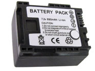 Canon BP-808 7.2v Camcorder Battery Replacement Pack FS10 FS100 FS11