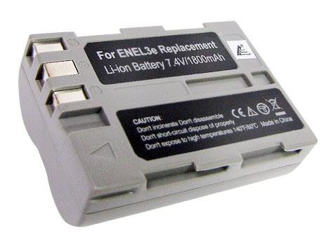 Nikon EN-EL3e D100 D200 D300 D300s D700 D50 D70 D70s D80 D90 Digital Camera Replacement Battery