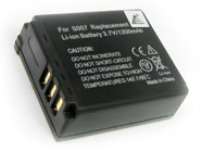 Panasonic CGA-S007 CGA-S007A/1B DMC-TZ1 DMC-TZ2 DMC-TZ3 Digital Camera Replacement Battery