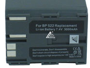Canon BP-522 Camcorder Replacement Battery