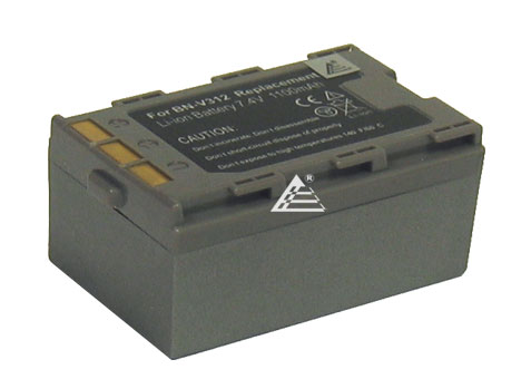 JVC BN-V312 BN-V306 GR-DVM76 DVM76U DVM96 DVM96U DVX707 Camcorder Replacement Battery