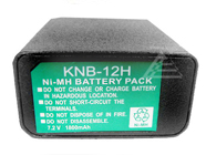 KENWOOD KNB-12, KNB-12A Replacement battery for KENWOOD TK250, TK250G, TK255, TK259, TK350, TK350G, TK350N, TK353, TK353N, TK355, TK359